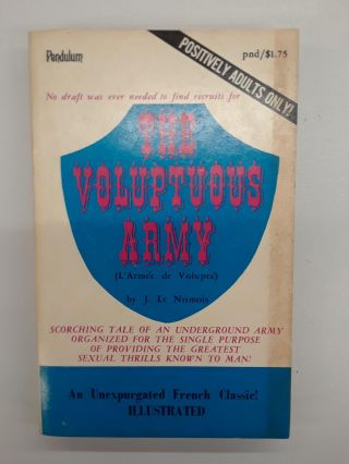 The Voluptuous Army. J. Le Nismois
