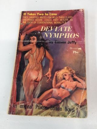 Deviate Nymphos. Eamon Jeffy