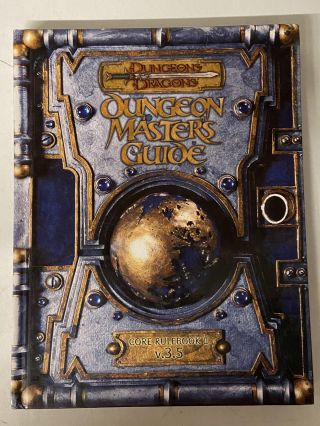 Dungeon Masters Guide: Core Rulebook II v.3.5 (Dungeons & Dragons d20 system). Monte Cook