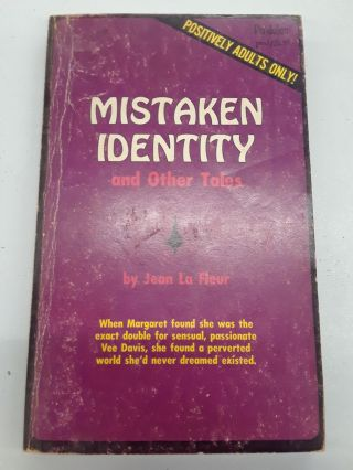 Mistaken Identity and Other Tales. Jean La Fleur