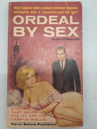 Ordeal By Sex. Brian O'Bannon