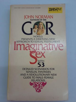 Imaginative Sex. John Norman