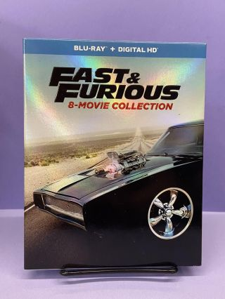 Fast & Furious (8-Movie Collection) (Blu-ray + Digital HD