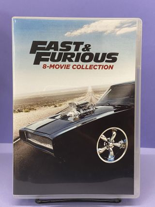 Fast & Furious (8-Movie Collection