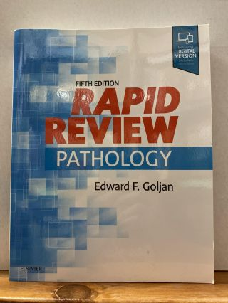 Rapid Review Pathology. Edward F. Goljan MD