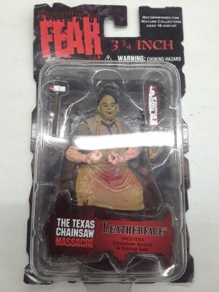 "Cinema Of Fear 3 3/4"" inch Leatherface Texas Chainsaw Massacre"