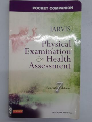 Pocket Companion for Physical Examination and Health Assessment. Carolyn Jarvis