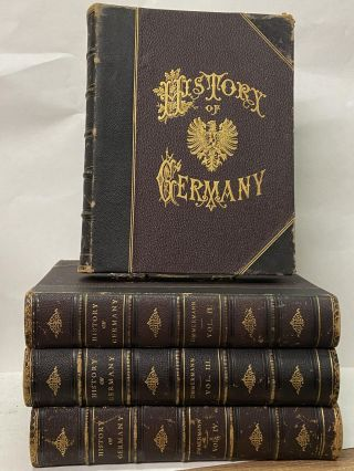 A Popular History of Germany from the Earliest Period to the Present Day (4 Volume Set). Dr....