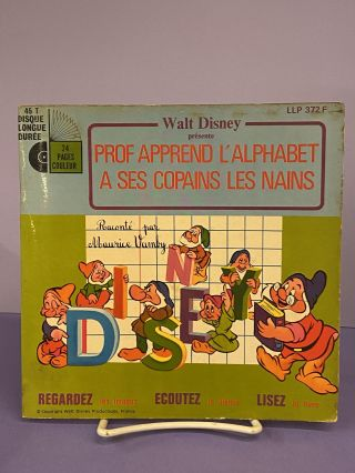 Prof Apprend L'Alphabet a Ses Copains les Nains. Maurice Vamby