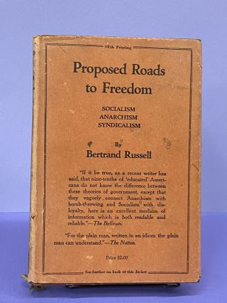 Proposed Roads to Freedom. Bertrand Russell