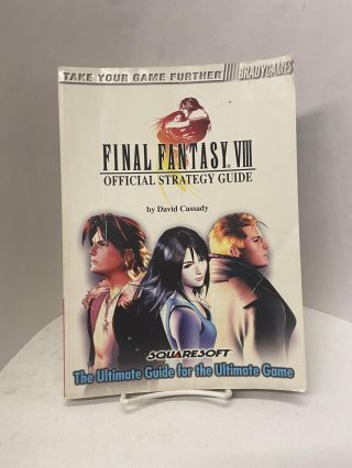 Official Final Fantasy VIII Strategy Guide. David Cassady