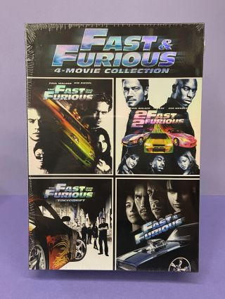 Fast & Furious (4 Movie Collection