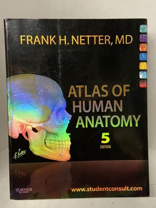Atlas of Human Anatomy (Fifth Edition). Frank H. Netter