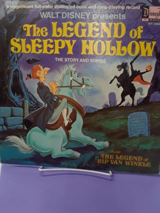 The Legend of Sleepy Hollow: The Story and Songs. Walt Disney