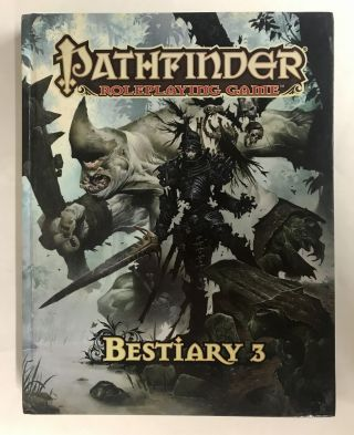 Pathfinder Roleplaying Game: Bestiary 3. Jason Bulmahn