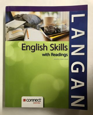 English Skills with Readings. John Langan, Zoe Albright