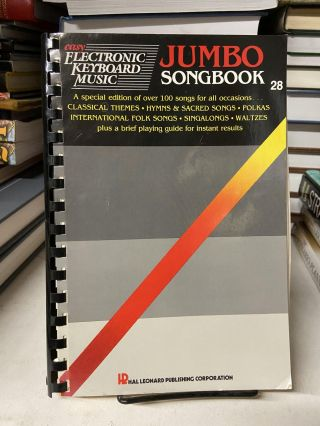 Jumbo Songbook 28 (Easy Electronic Keyboard Music