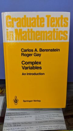 Complex Variables. Carlos A. Berenstain, Roger Gay