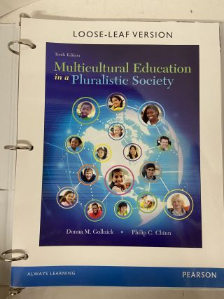 Multicultural Education in a Pluralistic Society (Tenth Edition). Donna M. Gollnick, Philip C. Chinn