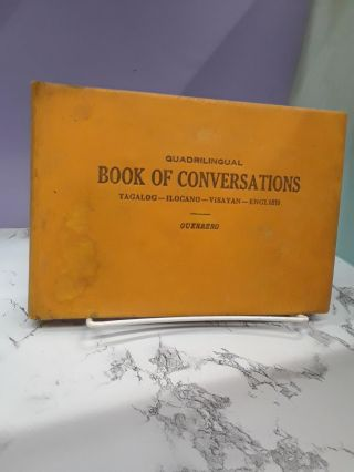 Quadrilingual Book of Conversations. Angel V. Guerrero