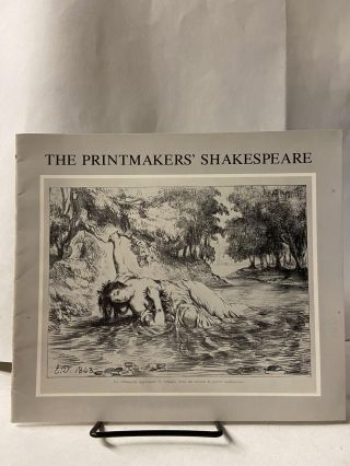 The Printmakers' Shakespeare. Ann Uhry Abrams