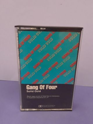 Gang Of Four ‎– Solid Gold. Gang of Four