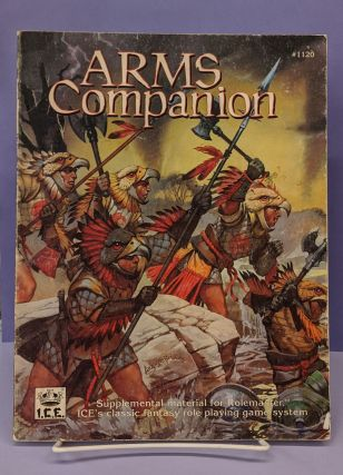 Arms Companion #1120 (Rolemaster/Shadow World). Sanford Berenberg, Joseph A. Buono