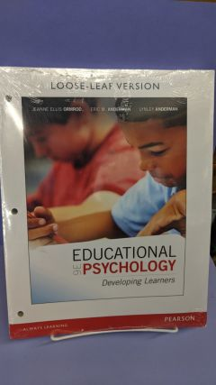 Educational Psychology. Jeanne Ellis Ormrod, Eric M. Anderman, Lynley Anderman