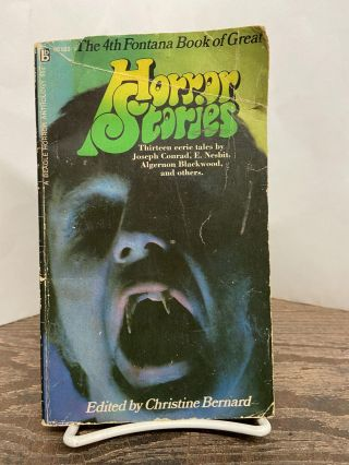 The Fourth Fontana Book of Great Horror Stories. Christine Bernard