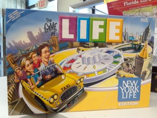 The Game Of Life: New York Life Edition Limited. Hasbro