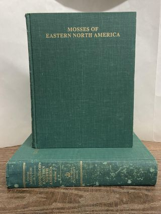 Mosses of Eastern North America (2-volume set). Howard A. Crum, Lewis E. Anderson