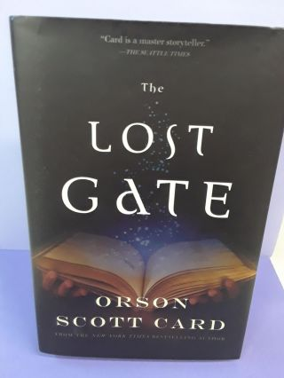 The Lost Gate. Orson Scott Card