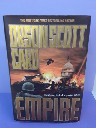 Empire. Orson Scott Card