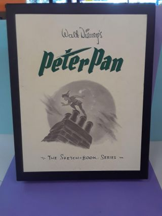 Walt Disney's Peter Pan: The Sketch Book Series. Frank Thomas, Ollie Johnston