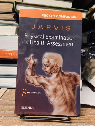 Pocket Companion for Physical Examination and Health Assessment (Eighth Edition). Carolyn Jarvis