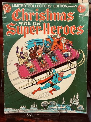 Christmas With The Super-Heroes #C-43 (Limited Collector's Edition, Volume 5