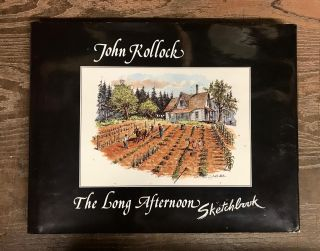 The Long Afternoon Sketchbook. John Kollock
