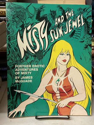 Misty and the Sun Jewel: Further Erotic Adventures of Misty. James McQuade