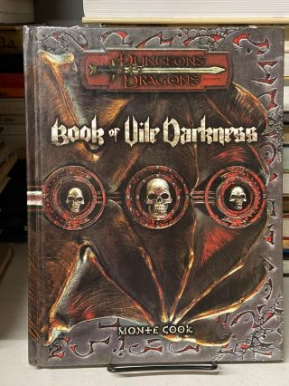 Book of Vile Darkness (Dungeons & Dragons). Monte Cook