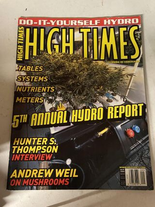 High Times September 2003- 5th Annual Hydro Report