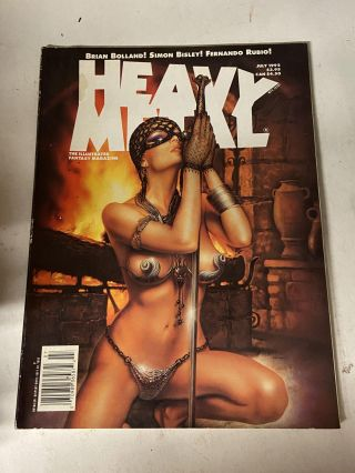 Heavy Metal July 1992