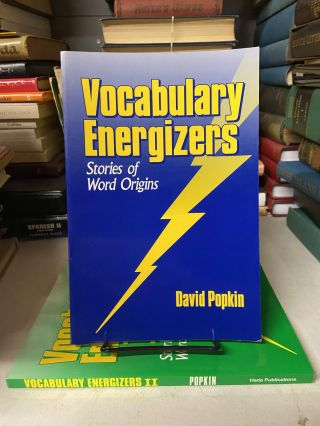Vocabulary Energizers (2-volume set, I & II). David Popkin