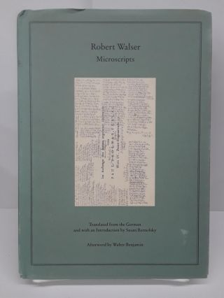 Microscripts. Robert Walser