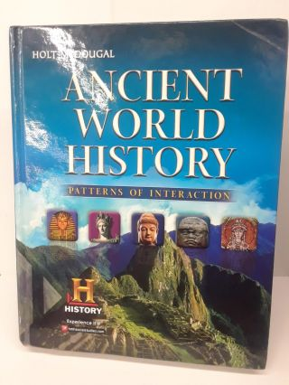 Ancient World History: Patterns of Interaction. Roger Beck