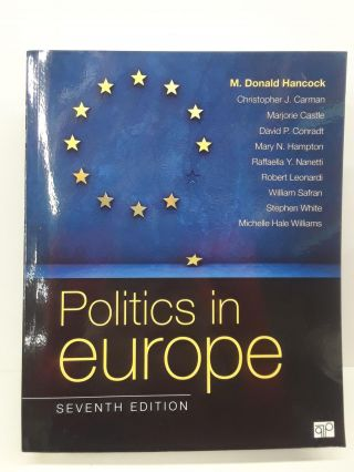 Politics in Europe. M. Donald Hancock