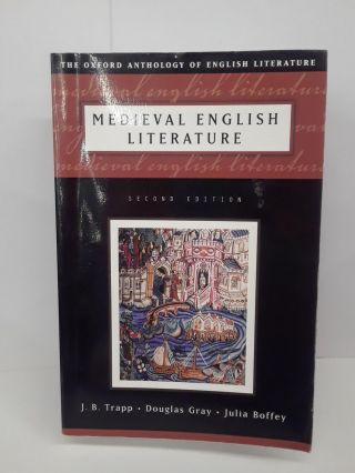 Medieval English Literature. J. B. Trapp