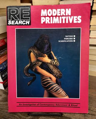 Re/Search #12: Modern Primitives. V. Vale, Andrea Juno