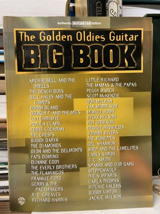 The Golden Oldies Guitar Big Book: Authentic Guitar TAB