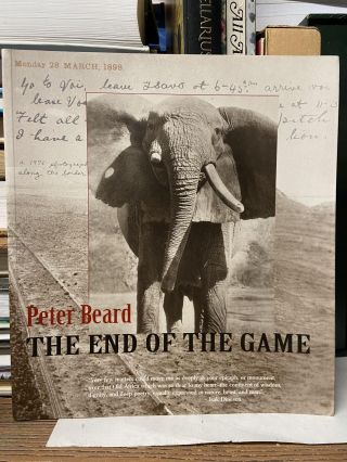 The End of the Game. Peter Beard