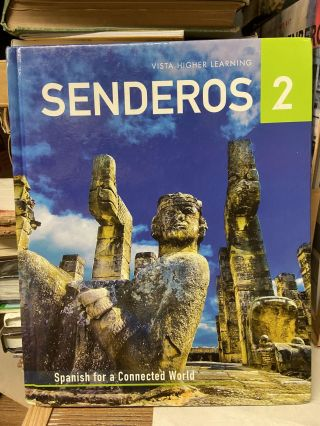 Senderos 2 (With Workbook